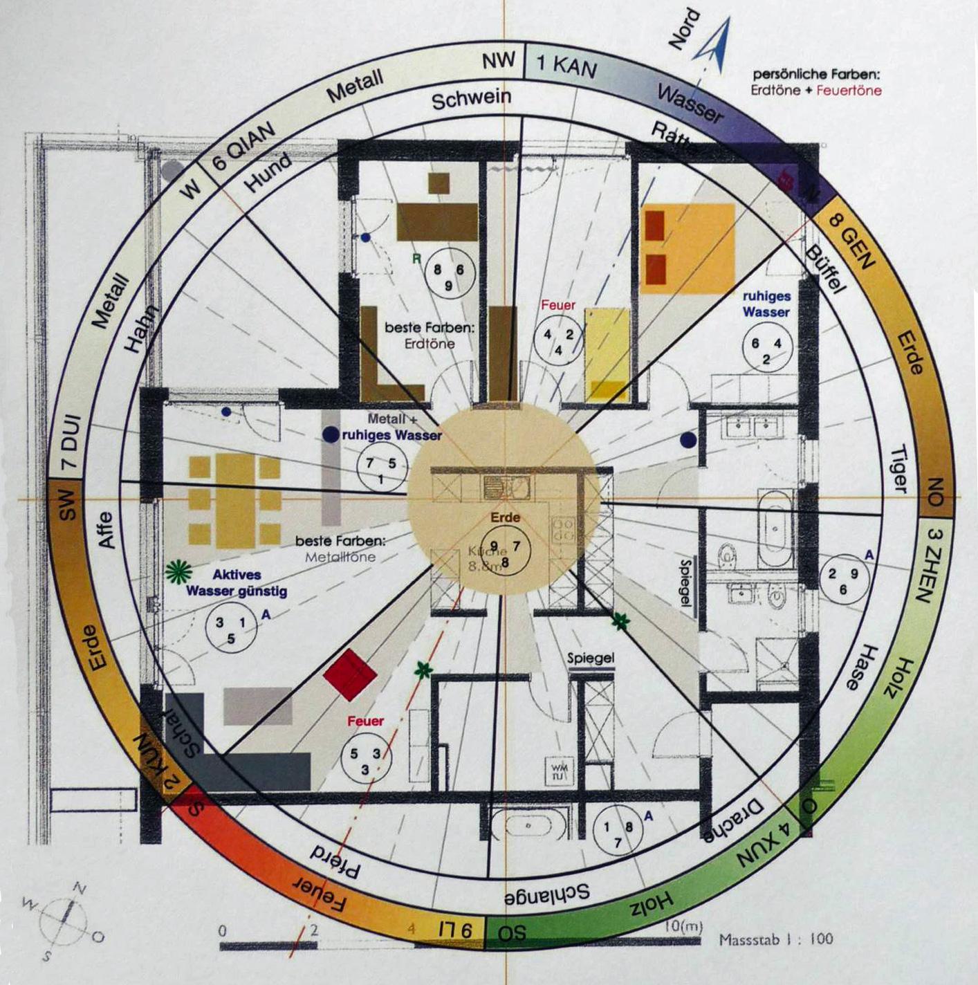 Raumaufteilung Nach Feng Shui Hausinfo
