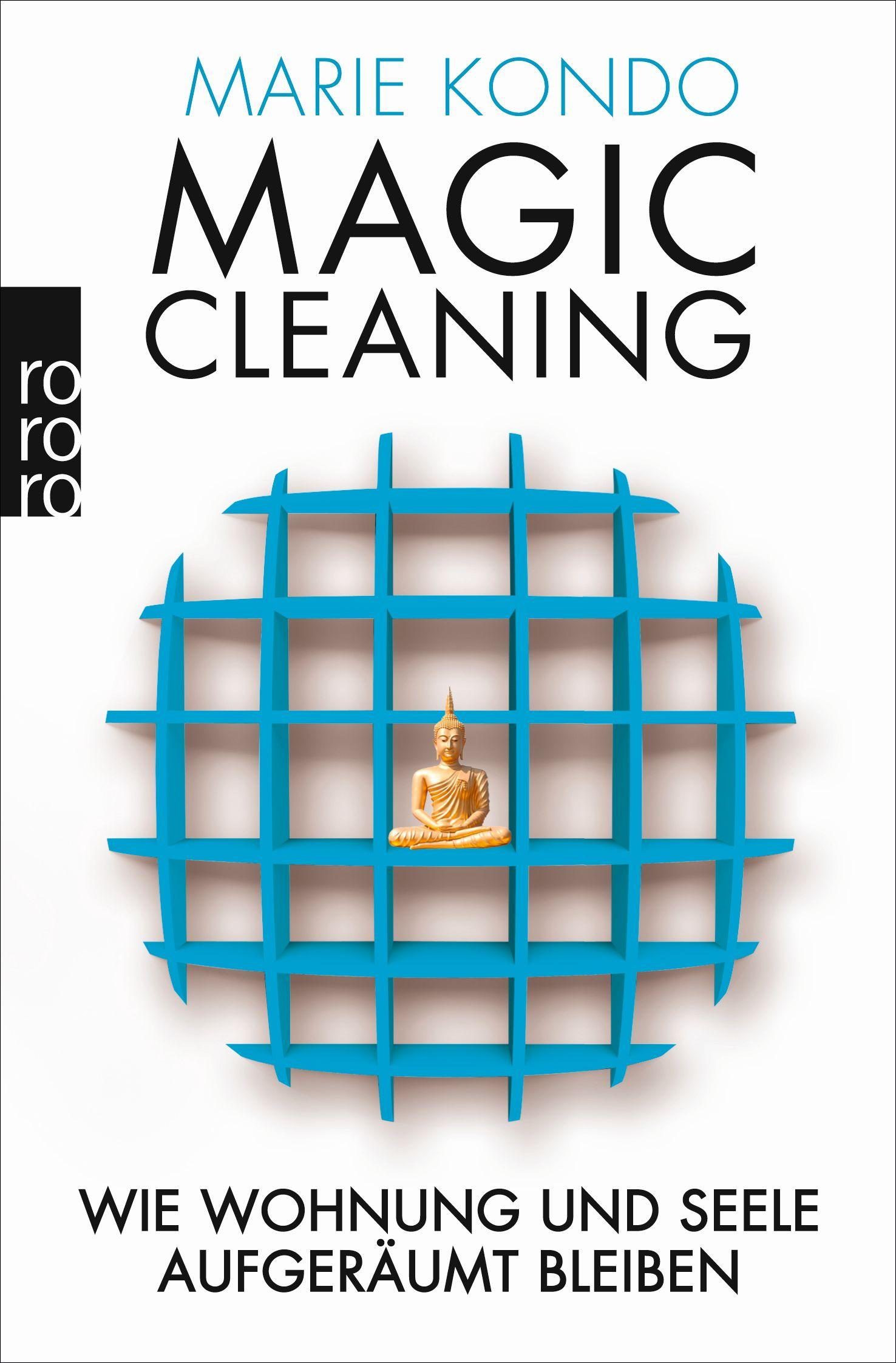 Magic Cleaning Cover blau