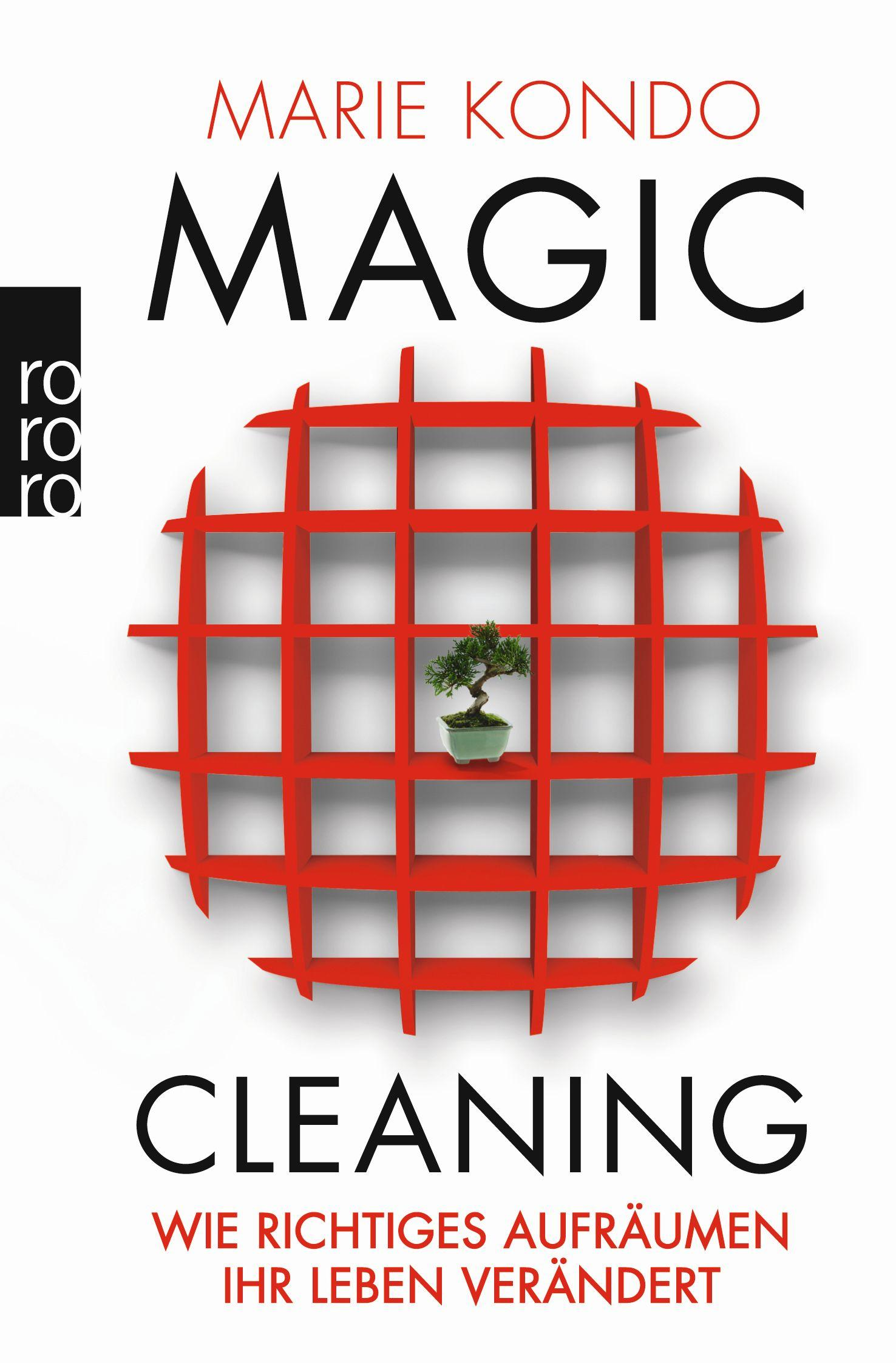 Buchcover Marie Kondo-Magic Cleaning
